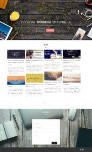 スクリーンショット ブログ トップページ